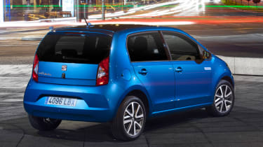 2019 SEAT Mii Electric - Rear 3/4 static view