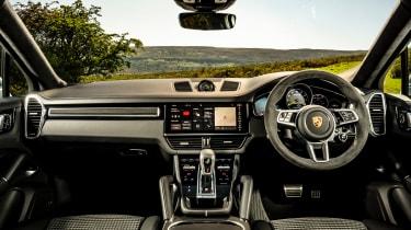 Porsche Cayenne Coupe SUV - interior