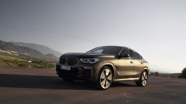 2019 BMW X6 - low 3/4 dynamic