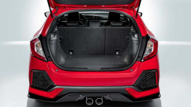Boot space is a strong suit, with more room on offer than is found in the Golf, Astra or Focus