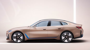 2021 BMW Concept i4 - side view
