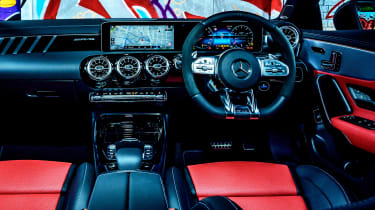 Mercedes-AMG CLA 45 saloon interior