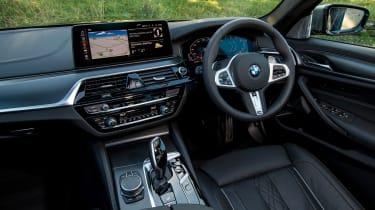 BMW 5 Series saloon steering wheel