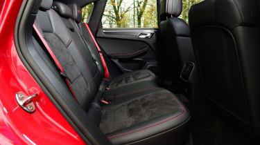 Porsche Macan SUV rear seats