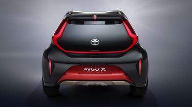 Toyota Aygo X Prologue rear