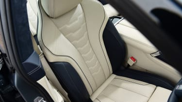 BMW 8 Series Gran Coupe saloon front seats