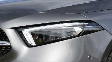 Mercedes A-Class saloon headlights