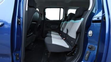 Citroen Berlingo MPV rear seats