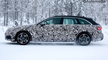 Updated 2019 Audi Avant side view