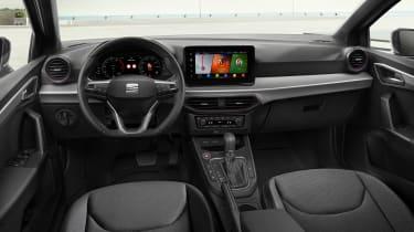2021 SEAT Ibiza Xcellence Sapphire Blue - interior