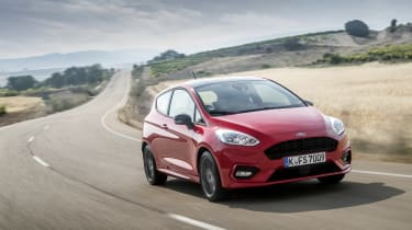 The looks are far from radical, and it is easily recognised as a Fiesta