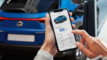 Lexus UX 300e companion app