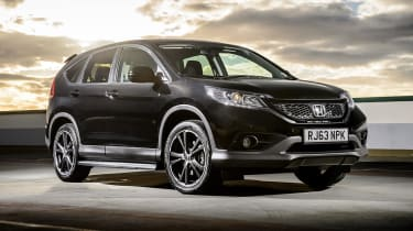 Honda CR-V SUV 2014 Black Edition front static