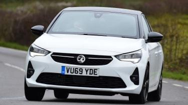Vauxhall Corsa hatchback front cornering