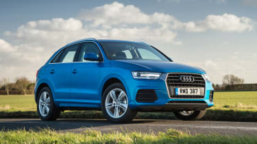 The Audi Q3 is a small SUV boasting an upmarket cabin and affordable running costs