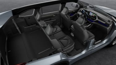 Toyota Highlander - five seats up