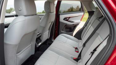 Range Rover Evoque 2019 rear seats