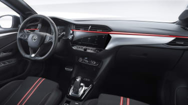 2019 Vauxhall Corsa - cabin wide view