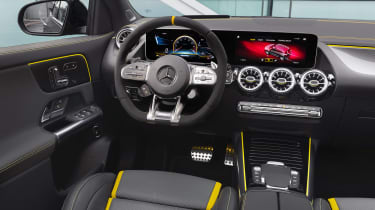 Mercedes-AMG GLA 45 S SUV driver's seat