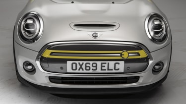 MINI Electric - front nose view