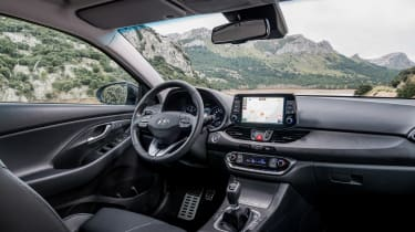 Interior quality is great, with switchgear and major controls feeling as good as European rivals