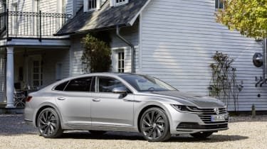 The Arteon effectively adds style, sophistication and tech to all that's solid about the Volkswagen Passat.
