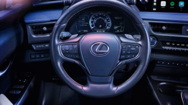 Lexus UX 300e steering wheel