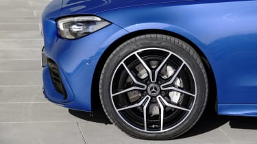 2021 Mercedes C-Class alloy wheel