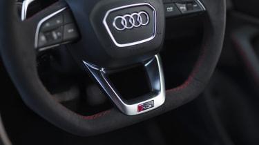 Audi RS Q8 SUV - steering wheel