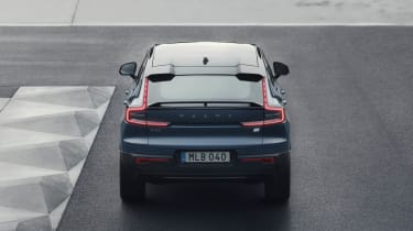 2021 Volvo C40 Recharge - rear view