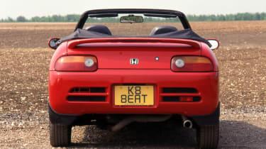 Honda Beat - rear view