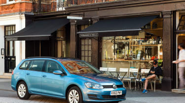 The Golf Estate tends to blend in rather than standing out, but it's a handsome car nonetheless