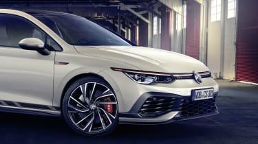 2020 Volkswagen Golf GTI Clubsport - front close up