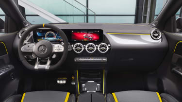 Mercedes-AMG GLA 45 S SUV interior