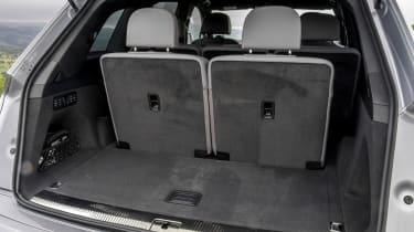 Audi Q7 S Line interior boot seats
