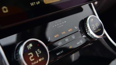 Jaguar XF saloon climate control