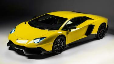 Lamborghini Aventador LP720-4 50 Anniversario 2013 front quarter