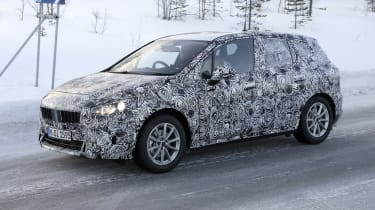 BMW 2 Series Active Tourer prototype driving - side