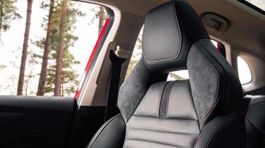 MG HS SUV sports seats