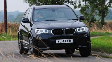 The BMW X3 achieved the maximum five stars in Euro NCAP crash testing and has six airbags as standard
