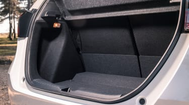 Honda Jazz hatchback boot sill