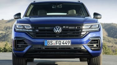 Volkswagen Touareg R front end - close up