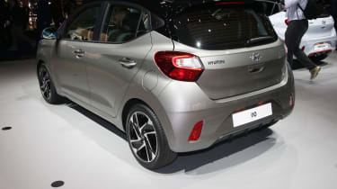 2020 Hyundai i10 - Rear 3/4 at Frankfurt