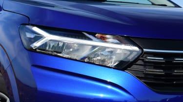 2021 Dacia Sandero hatchback - front headlight