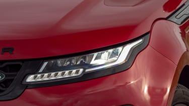 Range Rover Evoque 2019 headlights