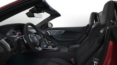 Jaguar F-Type R-Dynamic Black - Interior