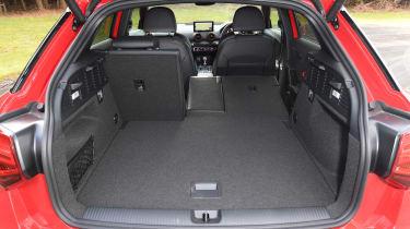 Audi SQ2 SUV boot