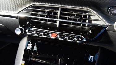 Peugeot 2008 SUV air vents
