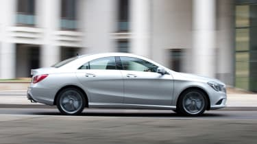 Mercedes' 4MATIC four-wheel-drive system is also an option