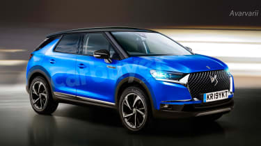 The new DS 3 Crossback SUV